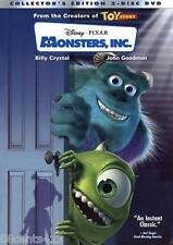 Disney's Monsters, Inc. (2-Disc Wide & Fullscreen Collector's Edition DVD) **G**