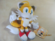 """Sonic the Hedgehog Miles Tails Prower Fox Sonic X 7"""" Plush w/tag Sonic Project"""
