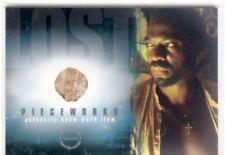 Lost Season 2 Pieceworks Card PW8 Adewale Akinnouye Agbaje [Thick Variant]
