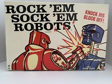 Rock 'Em Sock 'Em Robots Board Game - NEW Open Box COMPLETE!
