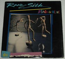 US Pressing RARE SILK Black & Blue LP Record
