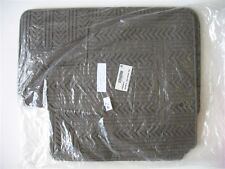 08-15 DODGE GRAND CARAVAN RUBBER ALL WEATHER SEASON WINTER FLOOR MATS RUGS OEM