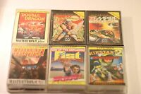 RARE SINCLAIR SPECTRUM 48k GAMES PACK (SIX GAMES IN THIS JOB LOT) BOXED 1980's