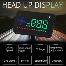 Universal GPS HUD Digital Head Up Display Car Truck Speedometer Speed Warning HB