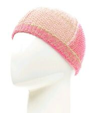 UNITED COLORS OF BENETTON Girls Youth Pink Gold Sparkle Beanie Hat 6-9 Yrs  BNWT