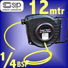 SIP 07972 Pro 12 Metre Retractable Air Hose Reel airline compressor tool line