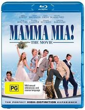 *Brand New & Sealed* Mamma Mia! (Blu-ray Movie 2008) Meryl Streep, Region B Aus