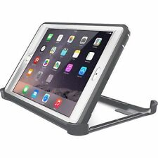Otter New Box Defender Case w/Stand For iPad Mini 1, 2, 3 Crevasse Gray - White