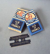 "ILE DE FRANCE - Blades for slant ""ile de France"" safety razor"