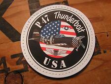 "SNAKE PATCH - PVC "" P47 THUNDERBOLT "" USAF ww2 WARBIRD US AIR FORCE Avion Pilote"