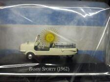 SMZ S3D URSS soviétique Cycle MICROCAR voiture couleur jaune échelle 1:43 DIECAST MODEL
