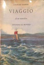 DARWIN, VIAGGIO DI UN NATURALISTA  INTORNO AL MONDO, MARTELLO 1959