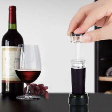 Diseño de vino tinto botella de champagne más reciente conservador Bomba De Aire Tapón sellado al vacío