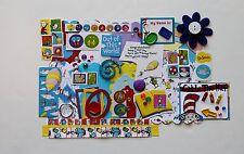 Dr. Seuss Cat in the Hat Custom Chipboard Mini Book Album DIY Kit (Scrapbook)