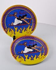 "Paper Plates 7"" Disney Aladdin Birthday Party Cake 2 Packs of 8 NOS 1992 Vintage"