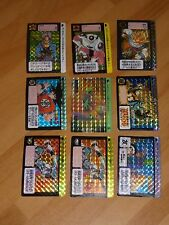 LOT PU07 DRAGON BALL Z DBZ HONDAN CARDDASS CARD 9 PRISM RARE CARTE