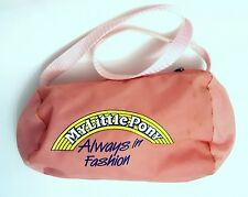 Rare Vintage Hasbro G1 My Little Pony Mail Order Always In Fashion purse Bag