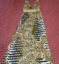 Maxi Dress Size S/M By Charbell Paris Has Elastic Smocking At The Back