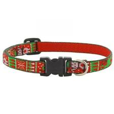 New LupinePet Ugly Sweater Christmas Dog Collars and Leash