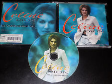 Celine Dion - In Conversation Very Rare! 1996 Interview Picture Disc Cd