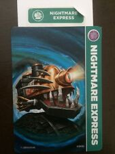 Skylanders Trap Team Nightmare Express COLLECTOR CARD AND WEB CODE ONLY