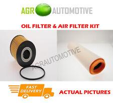 DIESEL SERVICE KIT OIL AIR FILTER FOR BMW 525D 2.5 163 BHP 2000-03