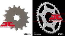 Front & Rear Sprocket Kit for SUZUKI TS400 J,K,L,M,A,B-USA 72-77 JT Sprockets