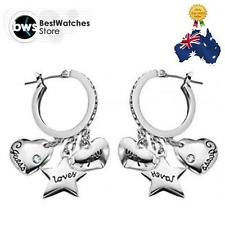 GUESS Stainless Steel Crystal Fashion Earrings