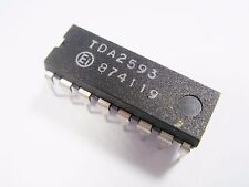 TDA2593 Synchro and Horizontal Deflection Control Color TV  IC SCHALTKREIS #CD64