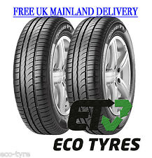 2X Tyres 185 60 R14 82H Pirelli Cinturato P1 Verde C B 69dB