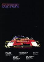 1991 Ferrari F40 O Z Wheels Original Werbung Drucken Art Car Ad J572 Ebay