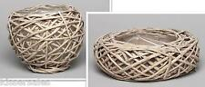 Flowers Basket Bowl Rattan Round Diameter Of 10 To 30 CM Decoration Decoration