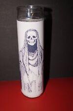 SANTA MUERTE Prayer Altar Church Candle SANTISIMA Novena Lady of the HOLY DEATH