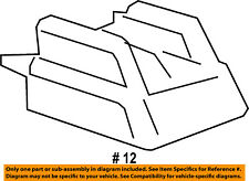 Cadillac GM OEM 13-16 ATS Seat Track-Track Cover Right 22880201