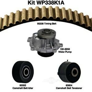 Engine Timing Belt Kit with Water Pump-Water Pump Kit W/o Seals Dayco WP338K1A