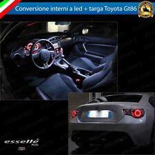 KIT LED INTERNI + LED TARGA TOYOTA GT86 CONVERSIONE COMPLETA 6000K CANBUS