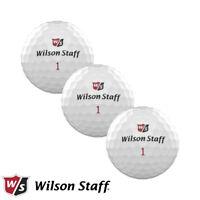 Wilson Staff DX2 2018 Low Compression Soft WHITE Golf Balls - 3x Ball Sleeve