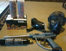 Paintball setup With Extras