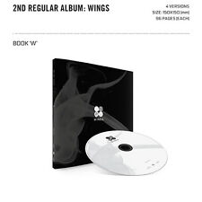 BTS Vol 2 BANGTAN BOYS KPOP 2nd Album WINGS [ W Version ] CD+Photobook+Photocard