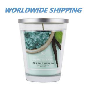 Chesapeake Bay Sea Salt Vanilla Scent Home Candle 11.5 Oz WORLDWIDE SHIPPING