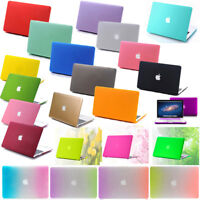 """2008-2019 Frosted Matte hard Case Protective Skin for Macbook air Pro 11"""" 13""""15"""""""
