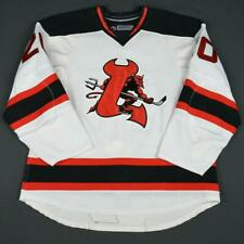 2008-09 Ryan Murphy Lowell Devils Game Used Worn AHL Hockey Jersey! MeiGray!