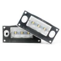 2 x LED Kennzeichenbeleuchtung Nummernschild Xenon Leuchten für Audi
