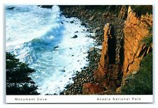 Postcard Monument Cove between Thunder Hole & Otter Cliff on Ocean Dr, Maine K6