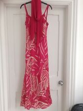Ladies Pink Evening Dress UK 12 Country Casuals