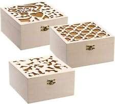 Wood Box Assortment 3/Pkg 6