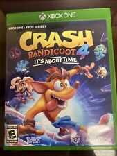 Mint Condition Crash Bandicoot 4 Its About Time Xbox One