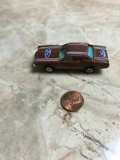 Vintage Toy Car Road Champs Ford Thunderbird Brown Yatming Hong Kong
