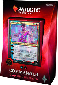 Magic the Gathering Commander 2018 Exquisite Invention NEW SEALED
