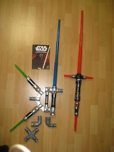 2x Star Wars Lichtschwert Kylo Ren/ Bladebuilders